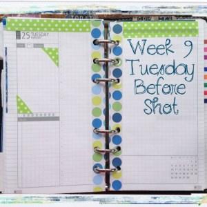 Week 9 Tuesday Before Shot