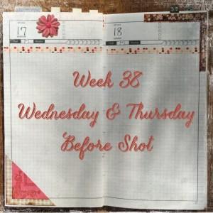 Week 38 Wednesday & Thursday Before Shot