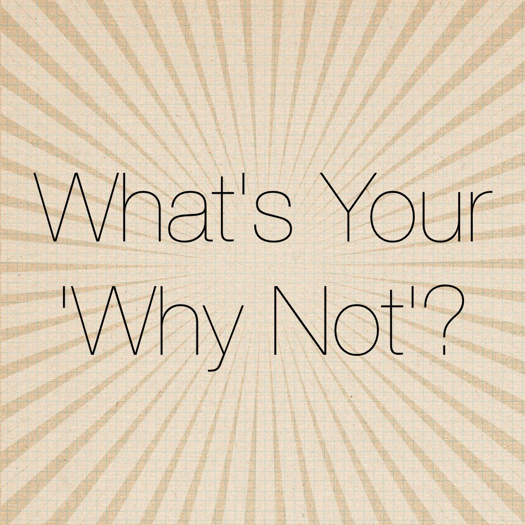 What's Your 'Why Not'? Intro