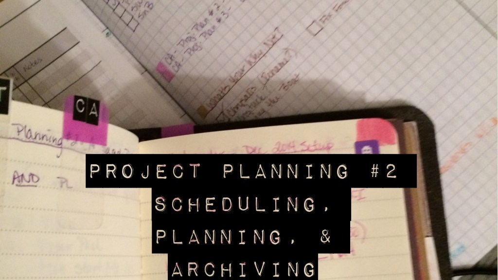 Project Planning #2