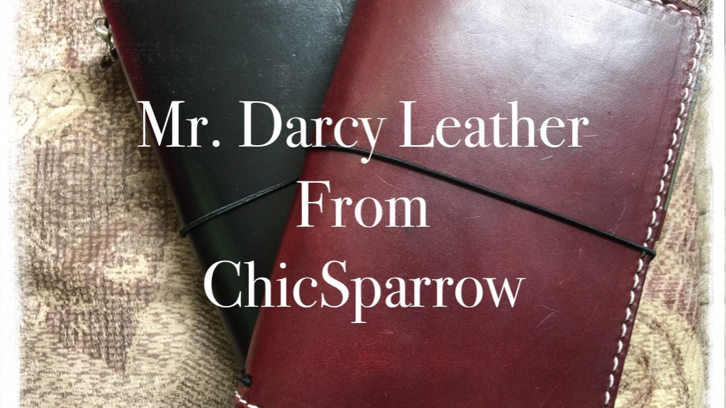 Mr. Darcy Leather from ChicSparrow FI