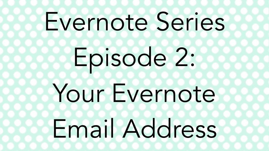 EN Series Ep 2 - EN Email Address