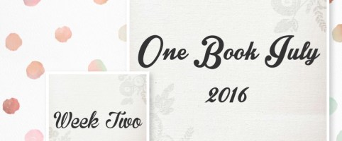 One Book July 2016 – Week Two Update