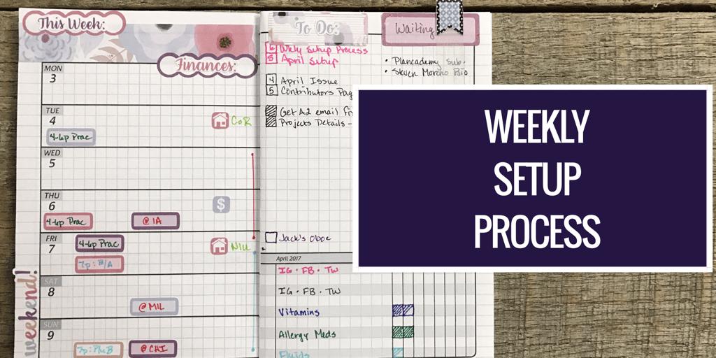 Weekly Setup Process FI