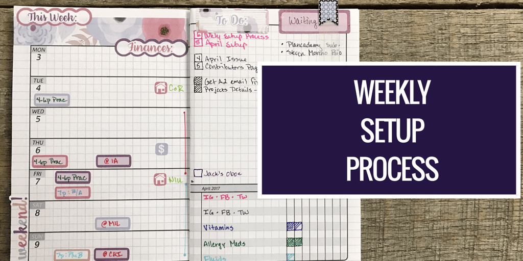 Weekly Setup Process FI