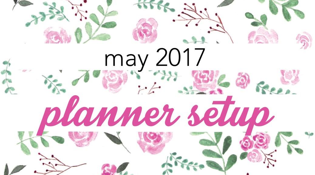May 2017 Planner Setup FI