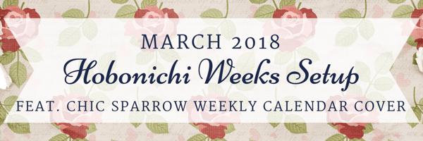 March 2018 Hobo Weeks Setup FI