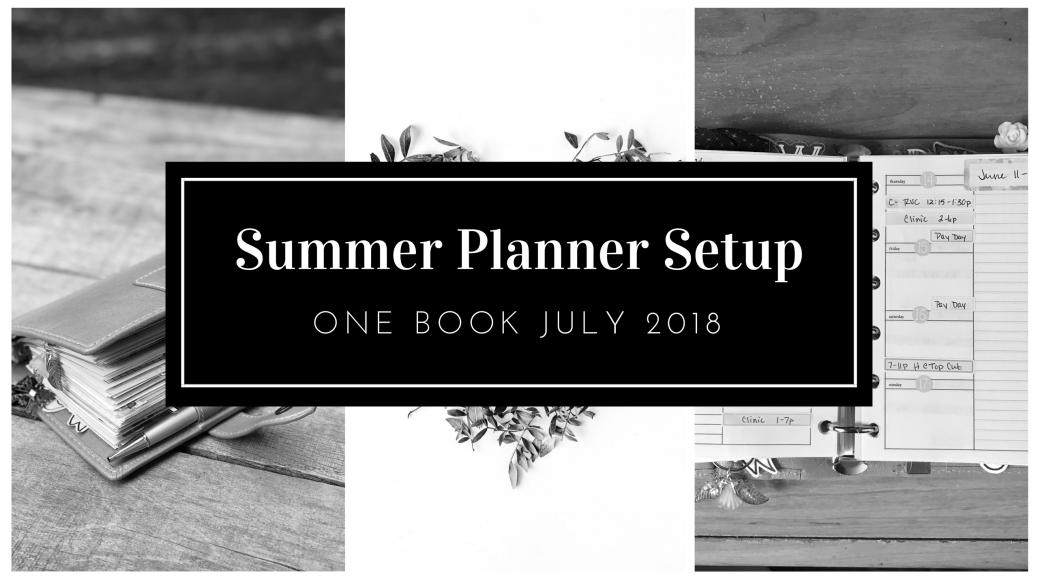 Summer Planner Setup FI