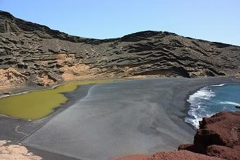 Le Lago Verde à Lanzarote.