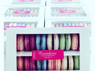 Pre-packed Macaron boxes (random colours and flavours)