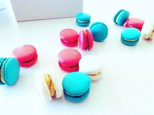 Macarons – custom colours (priced per dozen = 12 pieces)