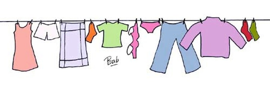 """Résultat de recherche d'images pour """"dessin vêtement sur un fil"""""""