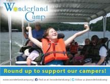 postcard - wonderland camp front
