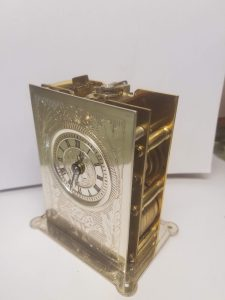 Fusee carriage clock movement