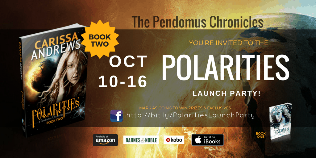Polarities Book 2 of the Pendomus Chronicles Launch Party