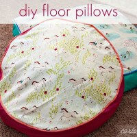 DIY Floor Pillows