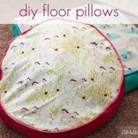 DIY Floor Pillows
