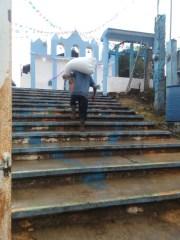 Segunda etapa: Entrega en la casa parroquial de Yabteclum, Chenalhó