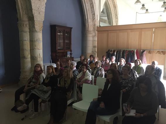 Encuentro de voluntarios de Arrropa
