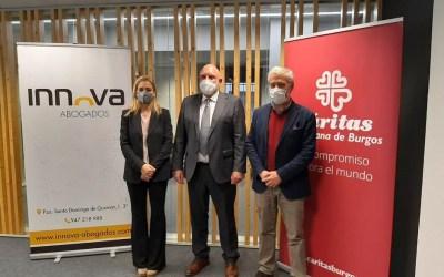 Innova Abogados colabora con Cáritas Burgos