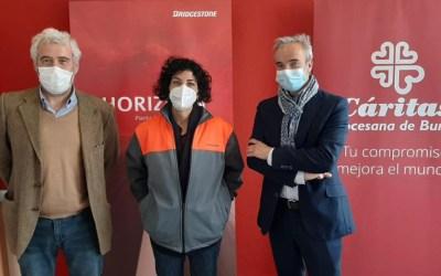 La planta de Bridgestone en Burgos impulsa el empleo de personas en riesgo de exclusión