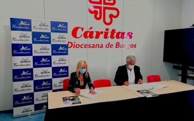 La Fundación Michelín reemplazará los neumáticos de los vehículos de Cáritas