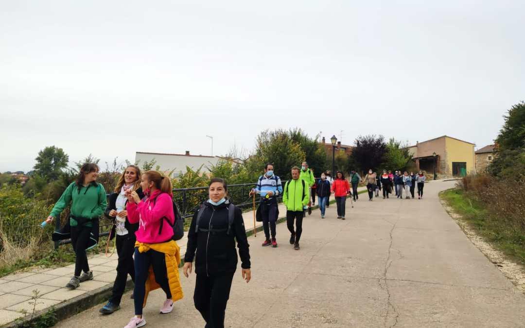 La marcha de Cardeñadijo congrega a 40 personas