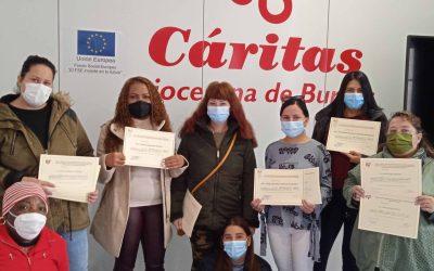 Entrega de diplomas de los cursos cofinanciados por el Fondo Social Europeo