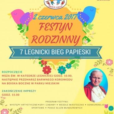 Festyn Rodzinny – 7 Legnicki Bieg Papieski