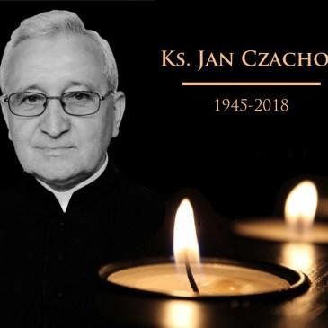 Zmarł ks. Jan Czachor