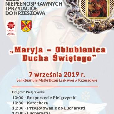 Zapraszamy na Pielgrzymkę do Krzeszowa!