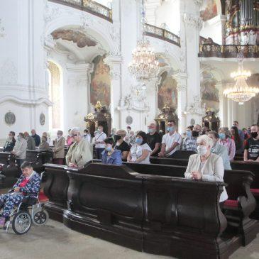 Podziękowania za XXI Pielgrzymkę Osób Niepełnosprawnych i Przyjaciół do Krzeszowa