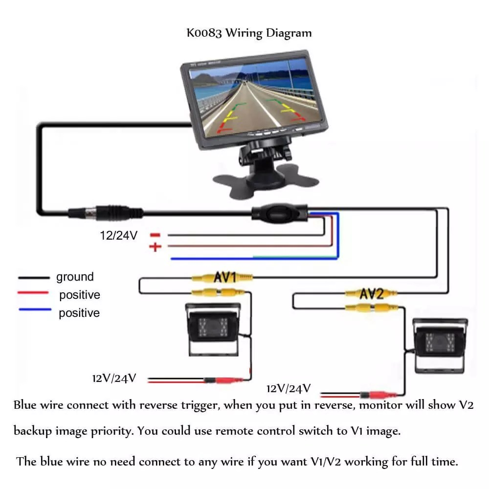WRG-3749] Backup Camera Wiring Diagram 12v on