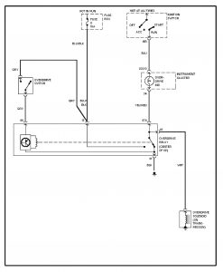Volvo 240 (1993)  wiring diagrams  overdrive circuit  CARKNOWLEDGE