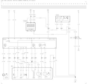 Volvo F12, F16  wiring diagram  cab and engine heater, webasto thermo 90, PHENGCA  CARKNOWLEDGE