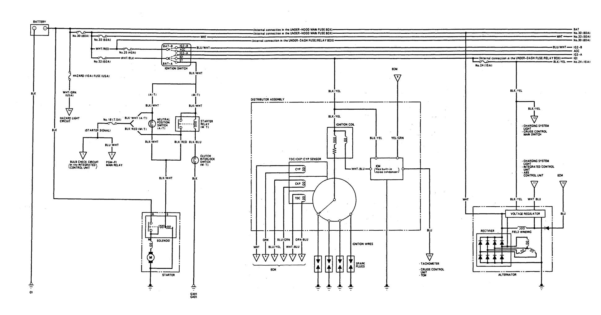 Integra Gsr Wiring Diagram