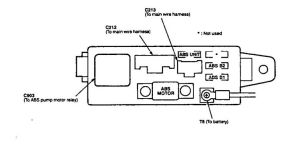 Acura Integra (1994  1997)  wiring diagrams  fuse block  CARKNOWLEDGE