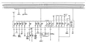 Acura Integra (1991)  wiring diagrams  instrumentation  CARKNOWLEDGE