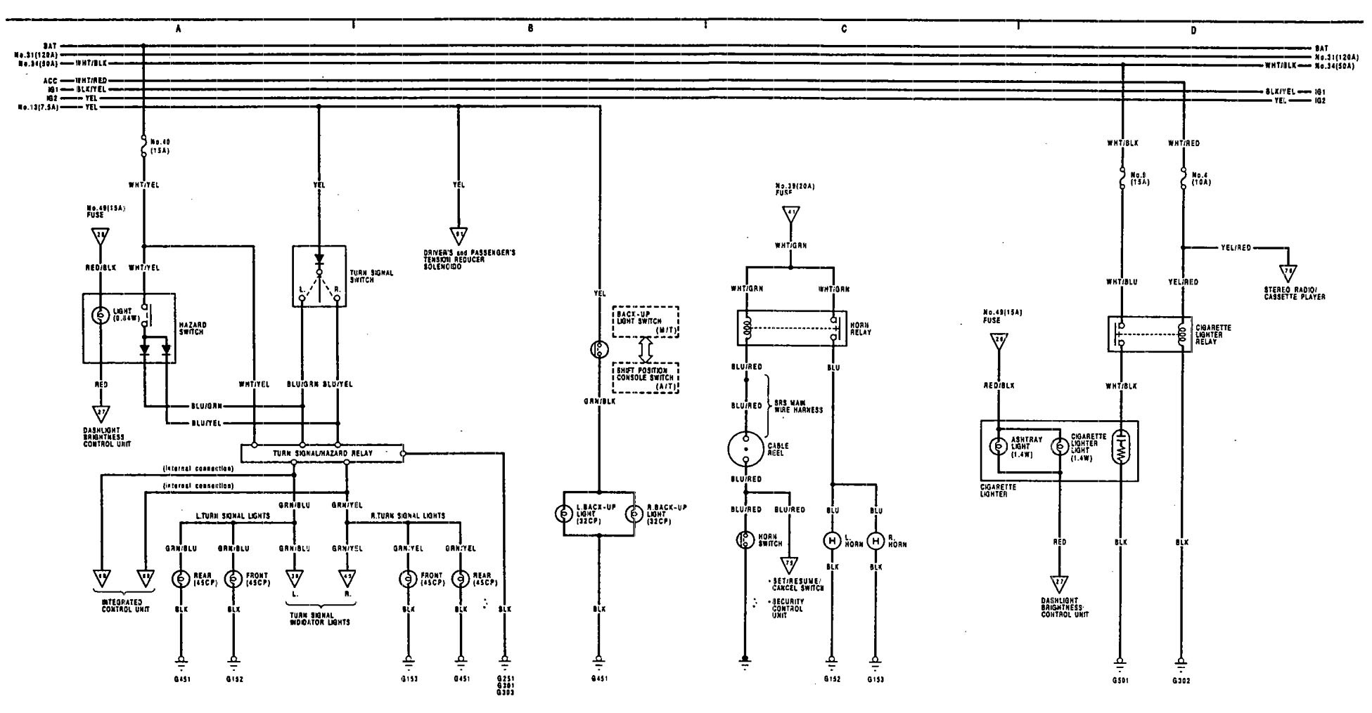 Acura Tl Wiring Diagram