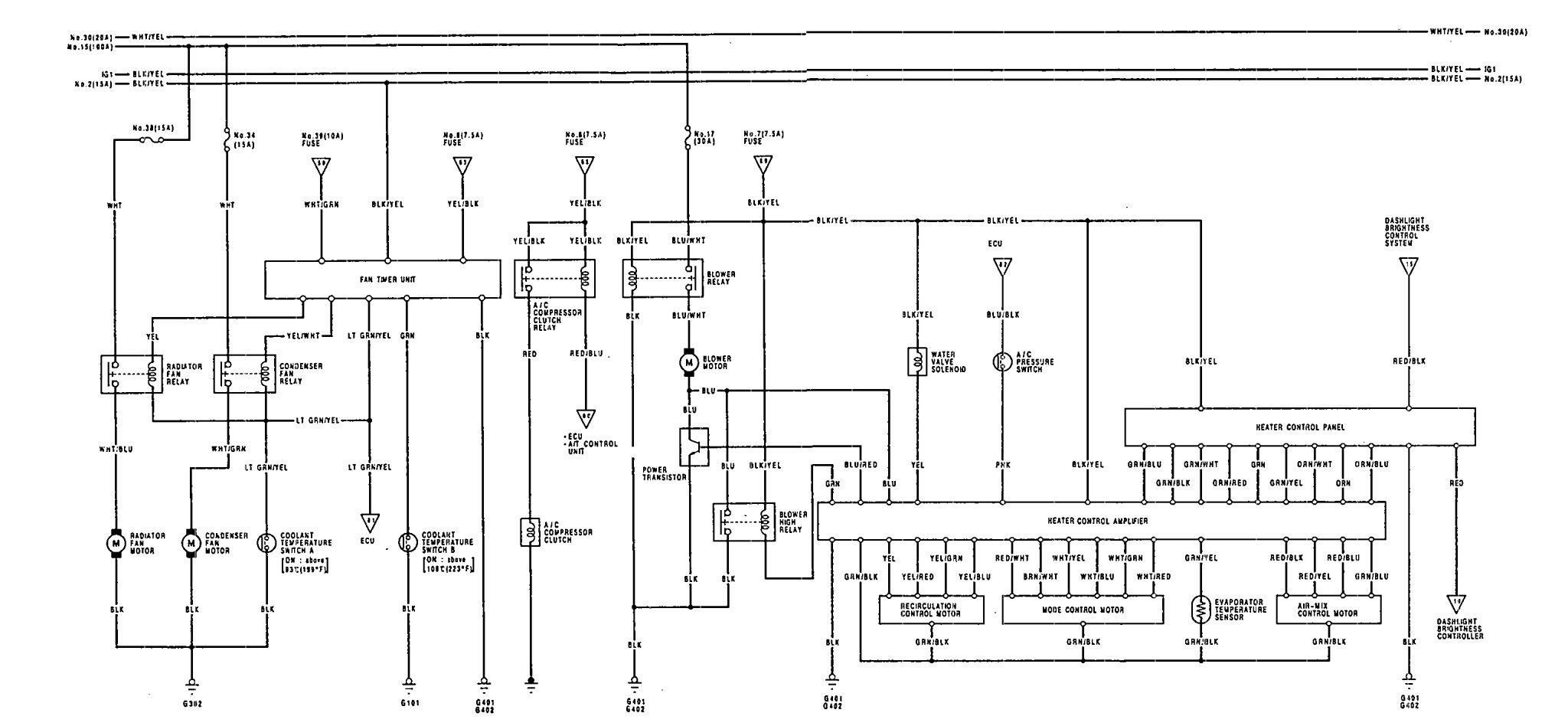 1992 Rodeo Wiring Diagram | Wiring Diagram Database on