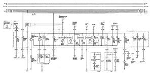 Acura Vigor (1993)  wiring diagrams  instrumentation