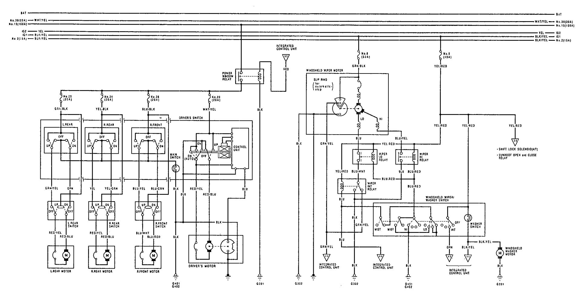 Diagram 95 Acura Integra Engine Wiring Diagram Full
