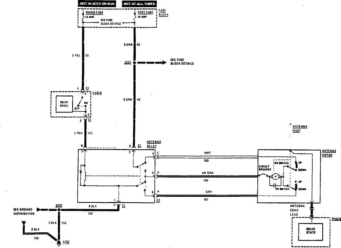 Wiring Diagram For Power Antenna