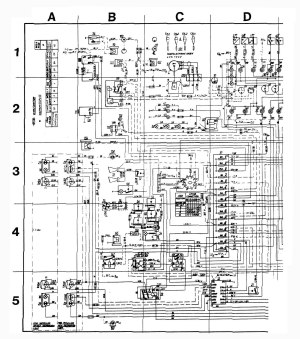 Volvo 245 (1989)  wiring diagrams  audio  CARKNOWLEDGE