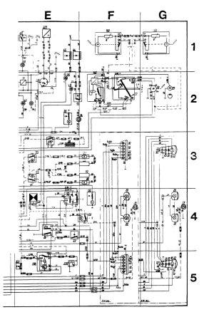 Volvo 245 (1989)  wiring diagrams  audio  CARKNOWLEDGE