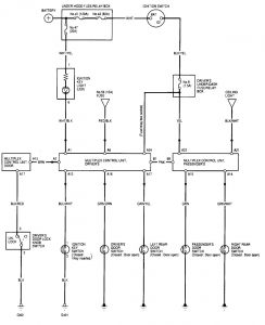 Acura TL (2000  2001)  wiring diagrams  illuminated
