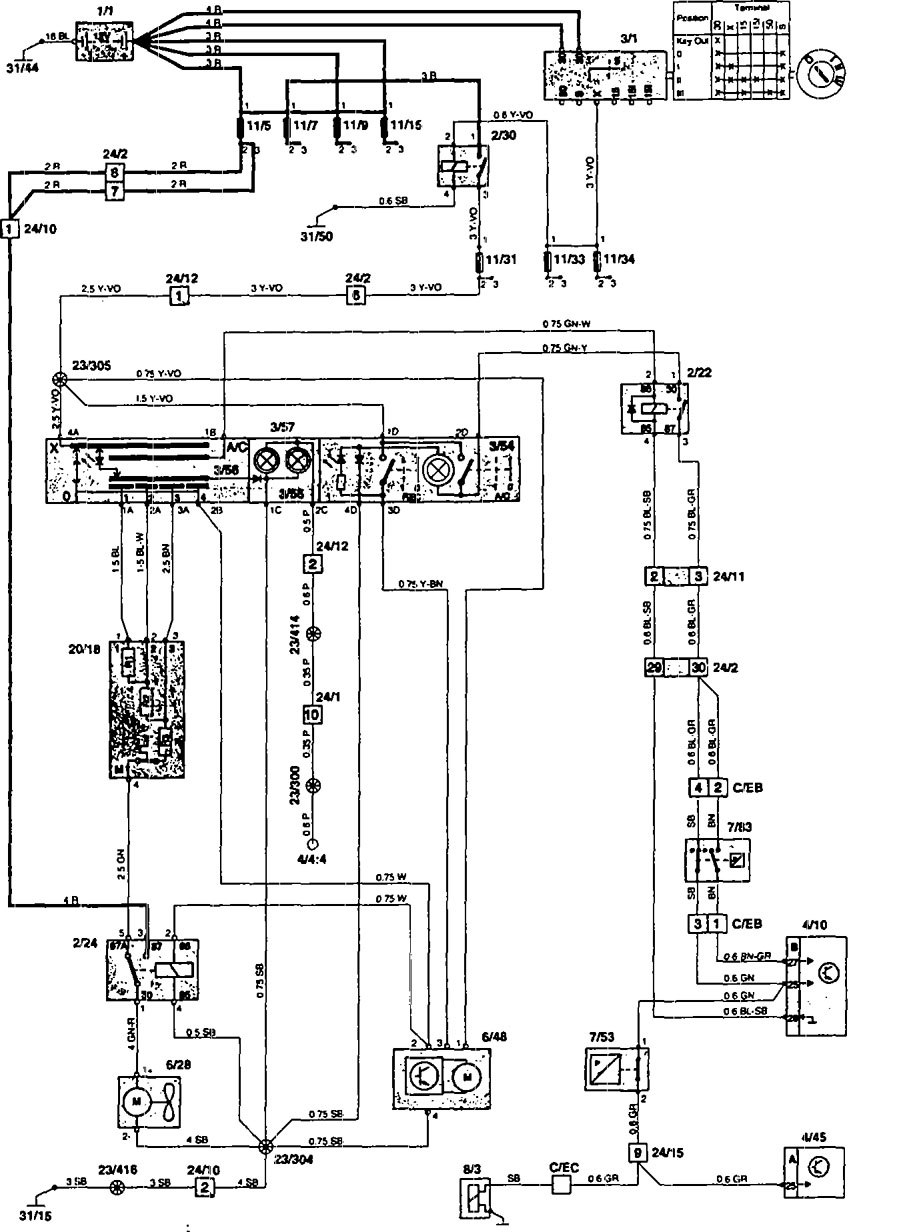stunning mercury 850 wiring external relay circuit wiring diagram mercury  650 thunderbolt wiring diagram at Mercury