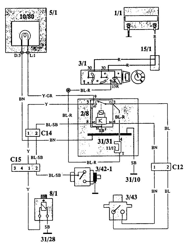Diagram Volvo 940 1993 Wiring Diagrams Diagram Schematic Circuit