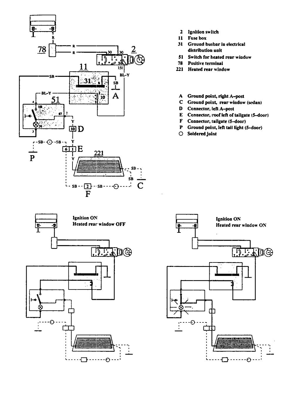 1992 Volvo 940 Gla C Wiring Diagram - Schematic Diagrams