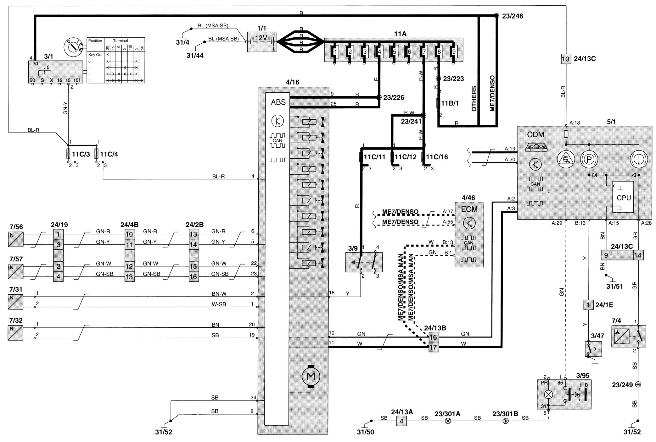 E30 Interior Wiring Diagrams Also Bmw E60 Fuse Diagram On 97 Bmw M3